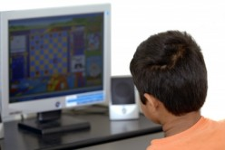 This boy spends most of his afternoons and evenings lost in a world of computer games.