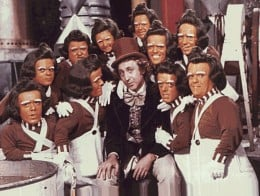 Oompa Loompas from 'Willy Wonka and the Chocolate Factory'