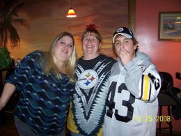 All the way to the left is me, in 2008. I was 369 lbs and tried to lie about my weight. I was always so ashamed of it.