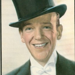 Dancing appreciation and aspiration used to be about this guy -- Fred Astaire...