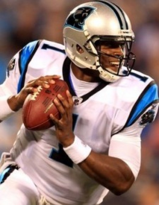 Cam having one of the best rookie seasons ever for a QB.