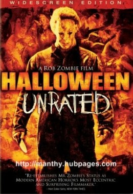 Rob Zombie's 2007 remake of John Carpenter's classic hooror film Halloween.