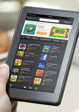 Amazon Kindle Fire Tablet for 199$