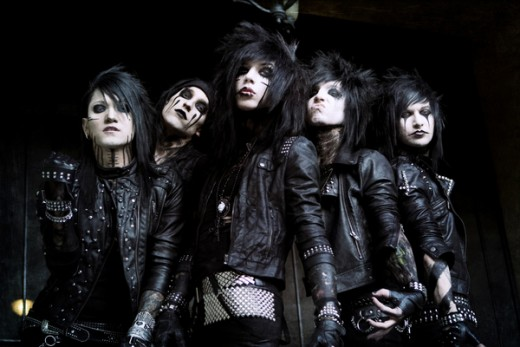 """New"" Black Veil brides."