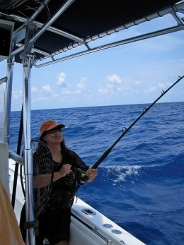 Fishing for Mahi