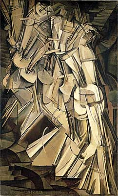 """Nude Descending a Staircase No. 2"" (1912)"