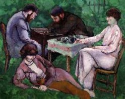 """The Chess Game"" (1910)"