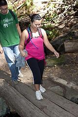 Hikers at Mt. Tamalpais, California  by besighyawn