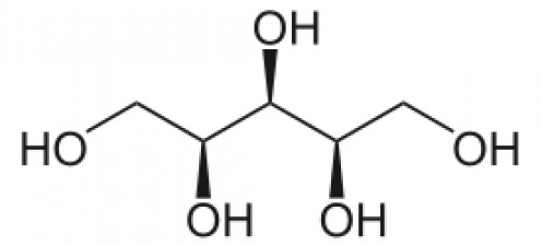 2D structure of Xylitol