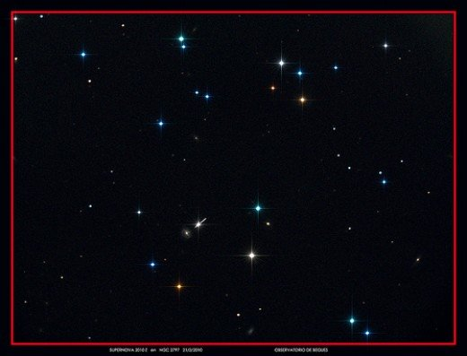 "Supernova 2010z by xn44 ""Discovered 3/2/2010 by Lick Observatory Supernova Search ... A Supernova is a stellar explosion. These occur at the end of a star's lifetime, when its nuclear fuel is exhausted..."""