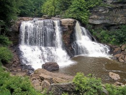 Blackwater Falls State Park, West Virginia.