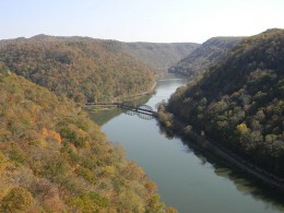 Hawks Nest State Park, West Virginia.