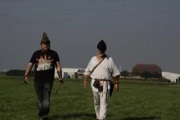 Hub author strolling past Picture by Michiel Turkenburg and Geert van Roosmalen
