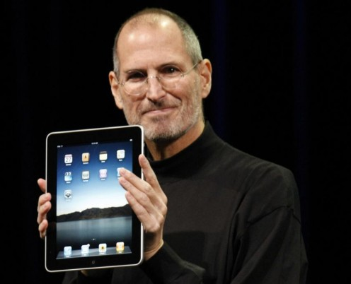 Apple founder Steve Jobs, who passed away Oct. 5th.