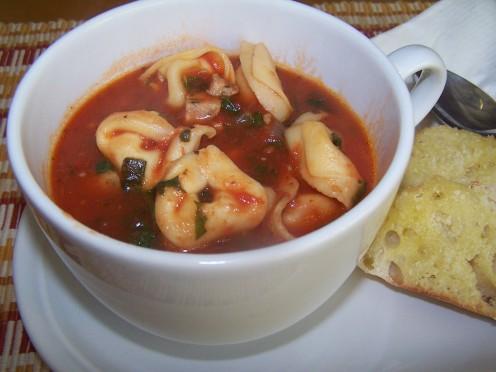 Chicken Sausage Tortellini Soup Recipe from www.thenaptimechef.com.
