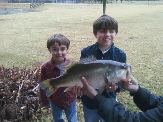 My little super fishermen.