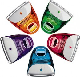 """Space ship"" computers as I called them back then, so many colors and so different looking!"