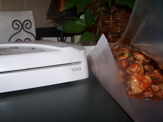 Store leftovers or double the recipe and save money by vacuum sealing with a FoodSaver.