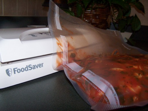 Store vacuum sealed soup in the refrigerator or freezer, depending on when you next want to eat it.