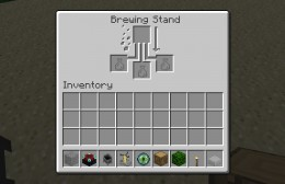 The minecraft potion brewing GUI. (Click for original size.)