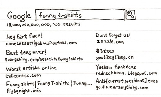 t shirt search engine