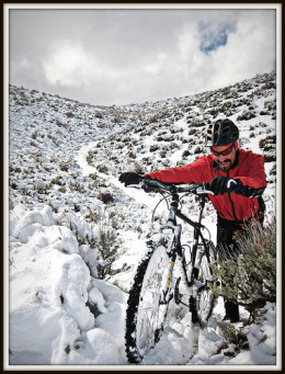 Winter cycling can be great fun if you're dressed right.