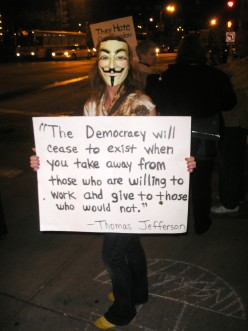 Occupy Wall Street: I'm Mad As Hell...