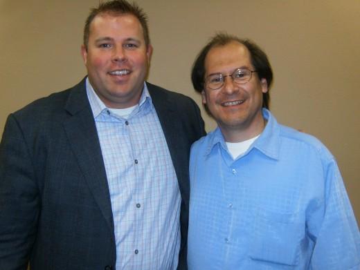 Rudy Cortez, my JV partner