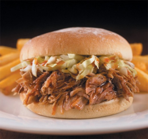 Barbecue Pulled Pork Sandwich
