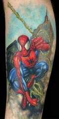 My Spidey sense says this tattoo rocks!