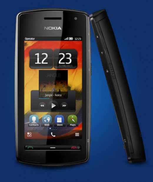 Nokia 600. 1GHz processor phone with Rs.12999 only