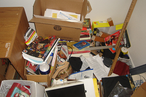 Hoarding is often seen with people with OCD.