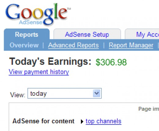 You can earn a terrific passive income with Google AdSense.