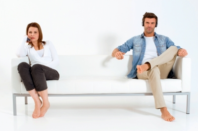 Being separated from your partner can cause a type of break up depression.