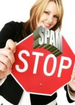 Avoiding spam emails