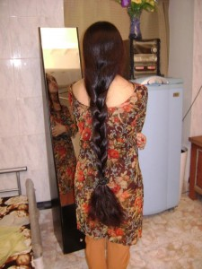 Another woman with long hair...
