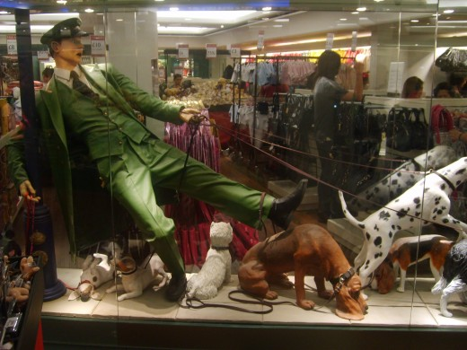 A display in Harrods