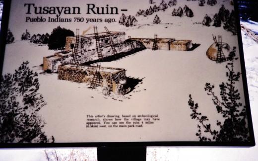 Tuyasan Ruin sign