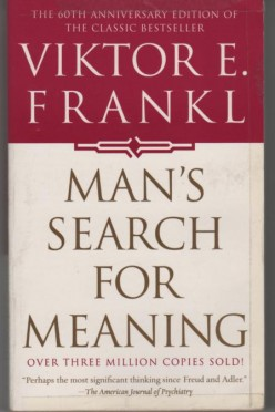 """""""Man's Search For Meaning: Experiences in a Concentration Camp"""" takes readers, if only to catch a glimpse, of a man's horrible memories of World War II and his fight to survive."""