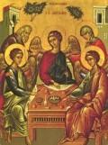 Hospitality of Abraham Icon