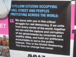 Occupy Wall Street protest movement