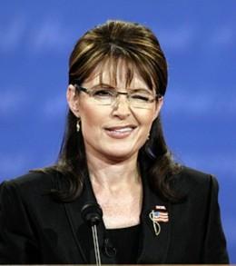 The wink seen round the world was made during the Palin-Biden debate at Washington University, St. Louis.