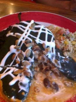 Smoked Chicken Chile Relleno