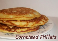 Cornbread Fritters Quick and Easy Recipe
