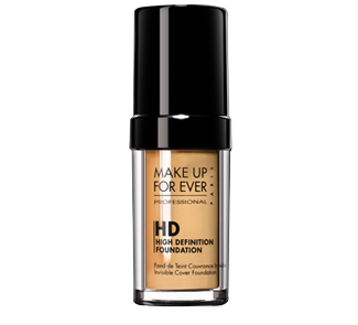 HD liquid foundation. Silcone base. Won't clog pore works well with aging skin
