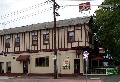 The Border Inn in the main street is haunted