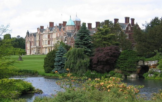 Sandringham, the Queens Estate in Norfolk