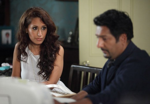 and so it is up to Masood to try sort out the family mess