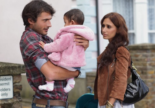 later when Syed sees Amira and Yasmin about to get in a cab, his fatherly instincts kick in