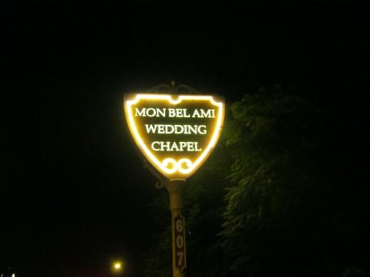 """Mon Bel Ami Wedding Chapel."""